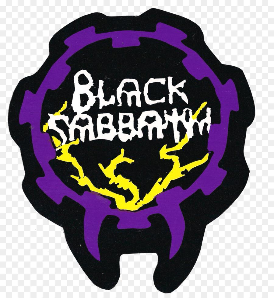 Logo marken sticker schrift black sabbath