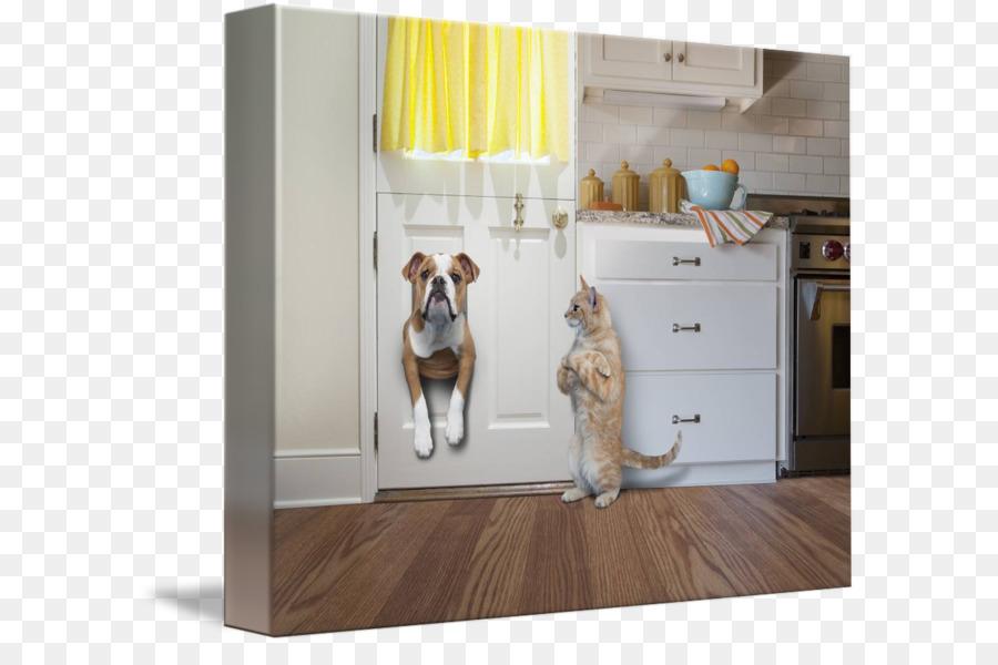 Bulldog Pet Door Cat Interior Design Services Cat Png Download