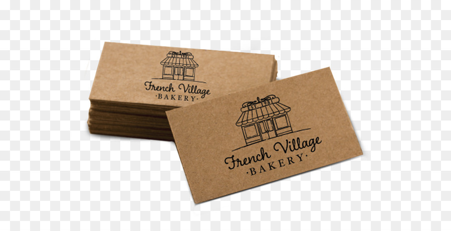 kraft paper recycling business cards printing brown card - Kraft Paper Business Cards