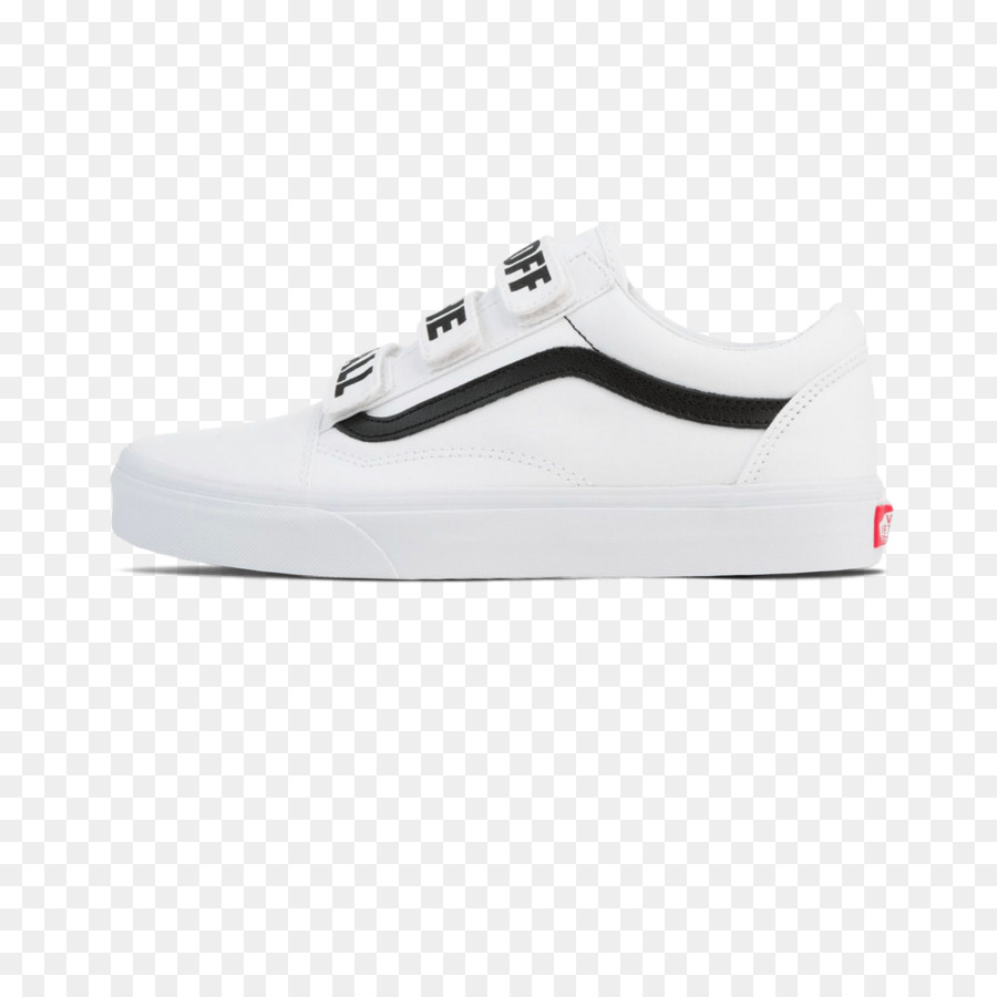 Sapato de Skate Tênis Sportswear - Vans off the wall - Transparente ... 5a1ecd0d425