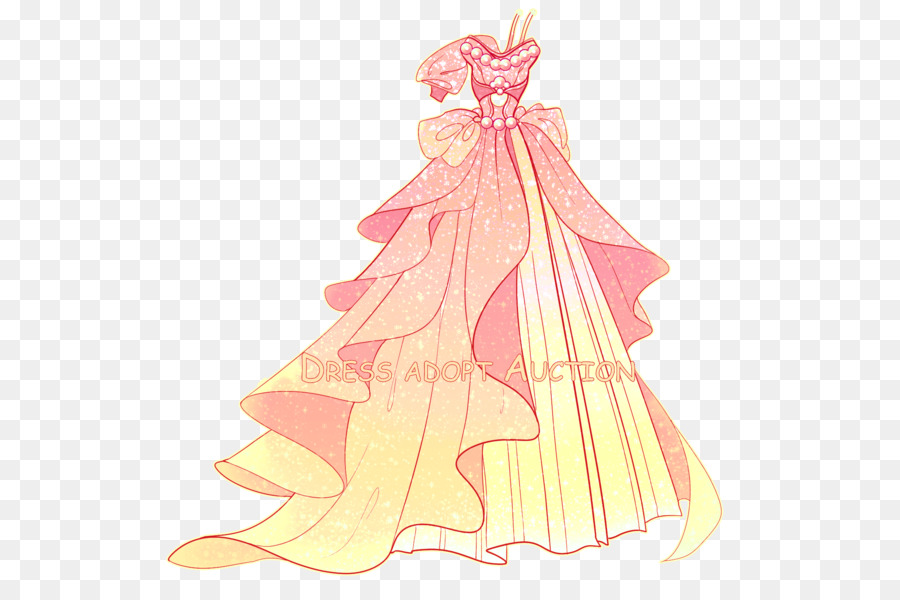 Clothing Dress Drawing DeviantArt - ball gown design png download ...
