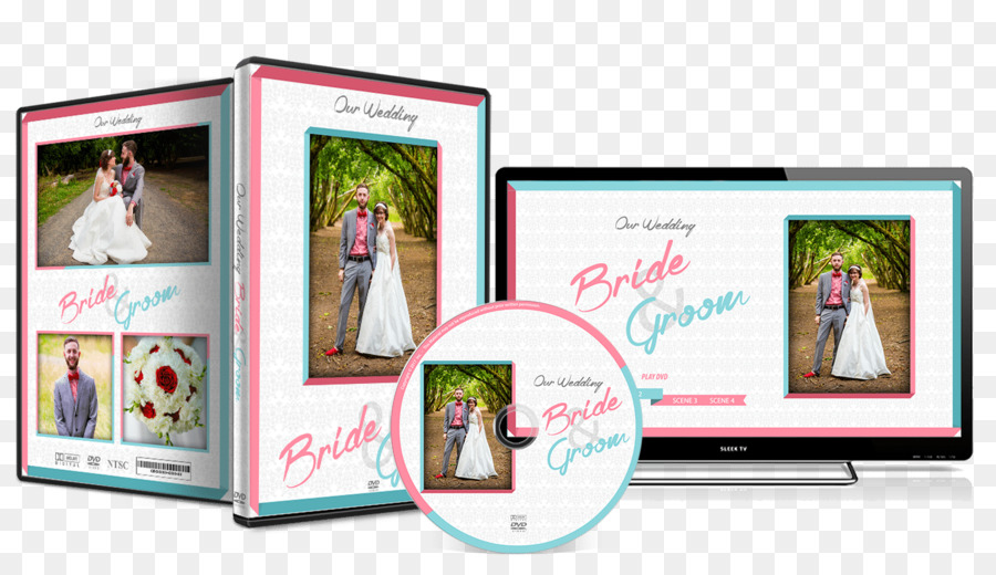 Advertising Picture Frames - Weddings Dvd Covers png download - 1350 ...