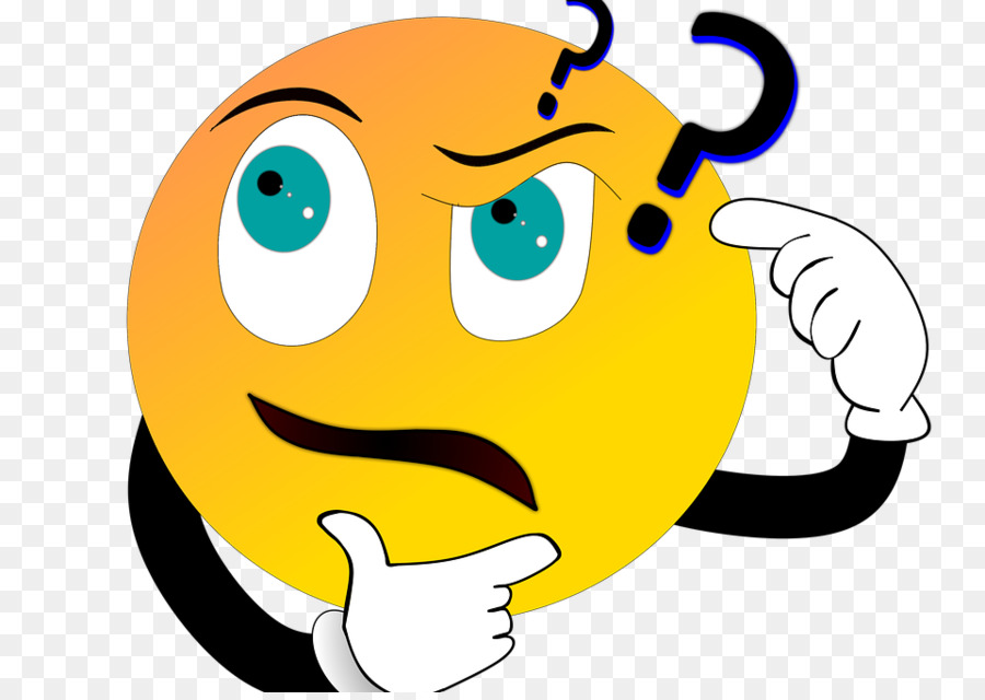 Tag question Cartoon Smiley - CONFUSED FACE png download ...