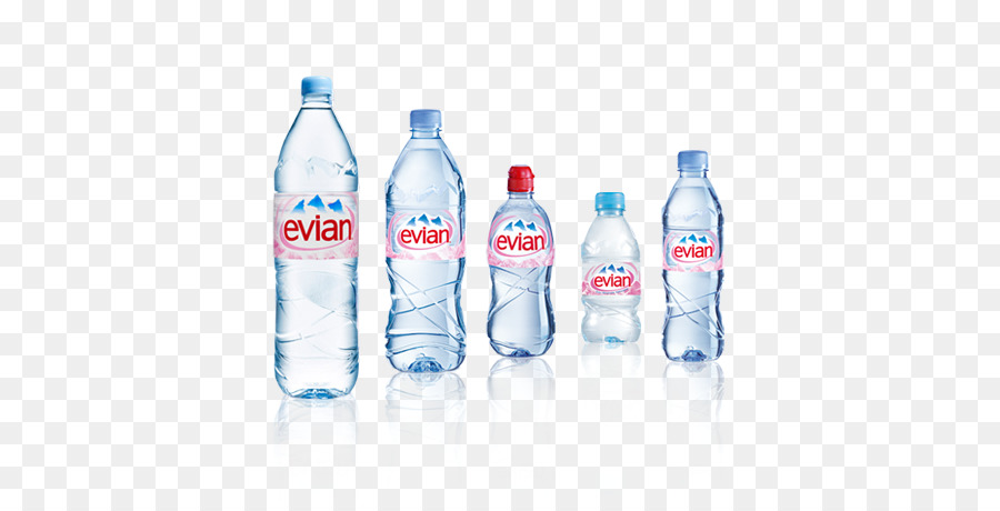 32400660ce Evian Mineral water Bottled water - mineral water bottles png ...