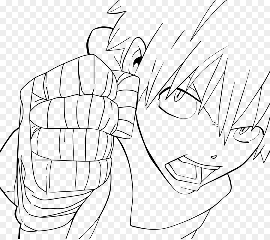 Line art Black Star Soul Eater Evans Drawing - soul eater Formatos ...