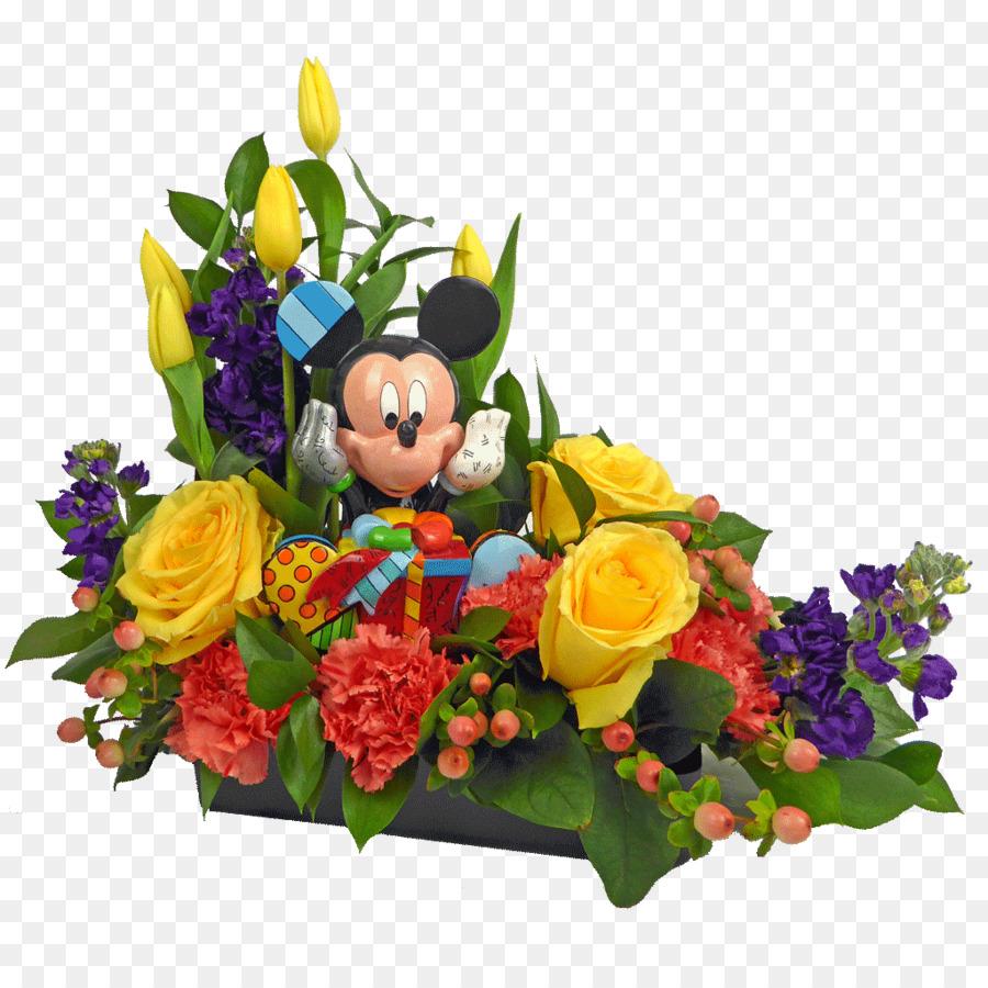 Floral Design Flower Bouquet Cut Flowers Birthday Flower Png