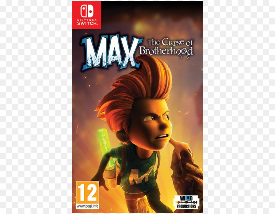 Max The Curse Of Brotherhood Pc Game png download - 700*700