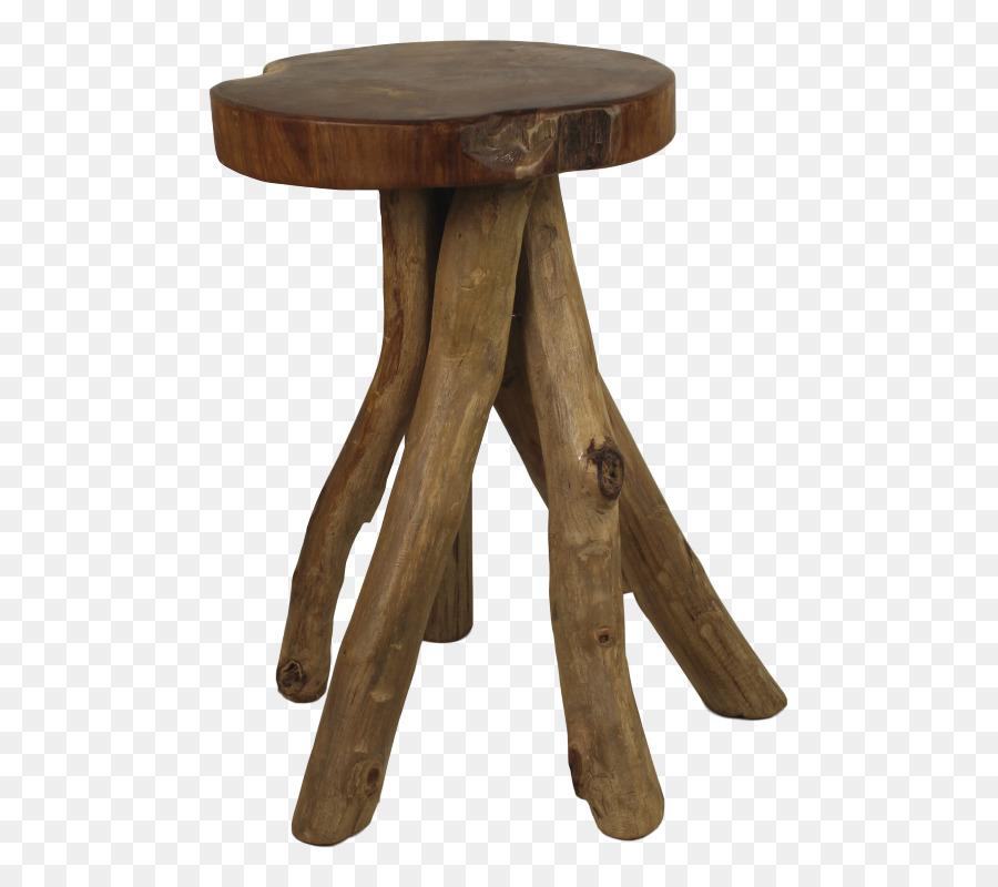 Stool Table Chair Kayu Jati Wood - table png download - 573*800 ...