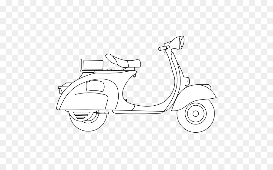 Scooter Piaggio Motor Vehicle Car Vespa Scooter Png Download 555