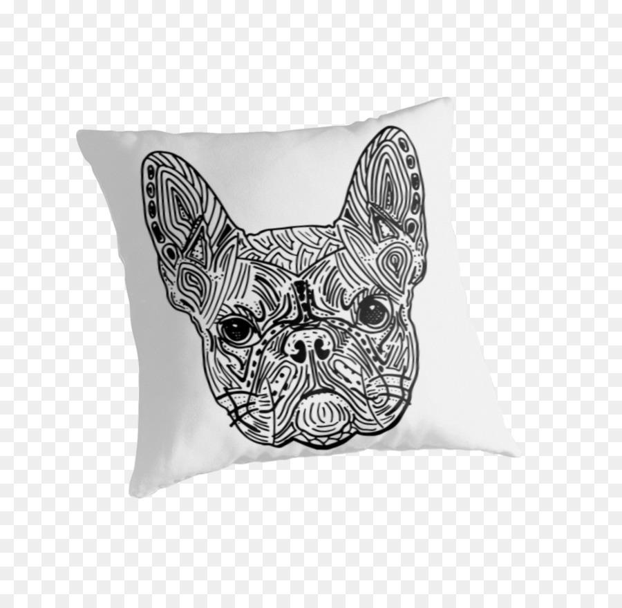 Mandala Bulldog francés de libro para Colorear Pintar - french ...