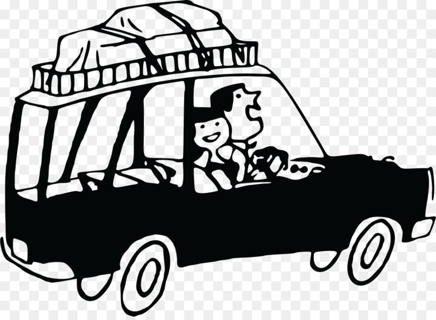 Road Trip Travel Car Clip Art