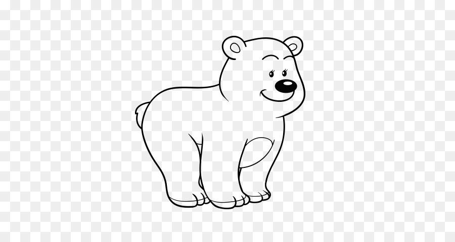 Polar oso panda Gigante de libro para Colorear de Dibujo - oso png ...