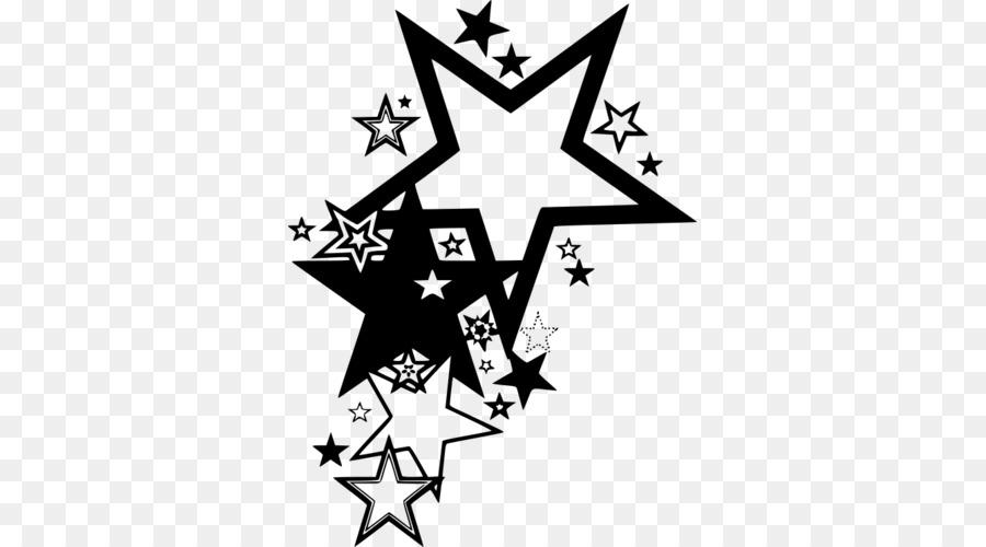Star Tattoo Clip Art Star Png Download 500 500 Free