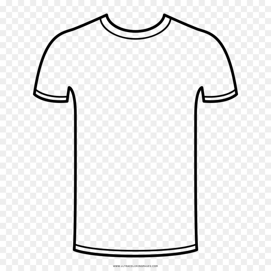 Coloring T Shirts | T Shirt Drawing Coloring Book Sleeve T Shirt Png Download 1000