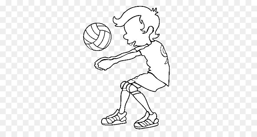 Voleibol de playa del Deporte de Dibujo - voleibol png dibujo ...