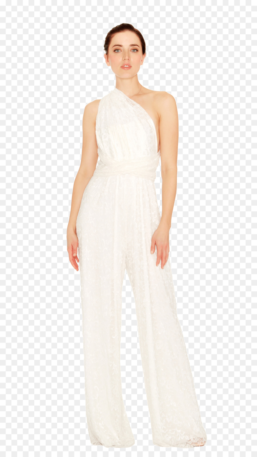 67a11735121 Wedding dress Jumpsuit Fashion Cocktail dress - dress png download - 1440  2560 - Free Transparent Wedding Dress png Download.