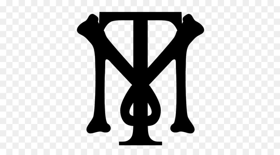 Tony Montana Logo Monogram White Clip Art Meca Png Download 500