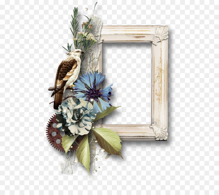 Floral Design Cut Flowers Wreath Picture Frames Quadros Png