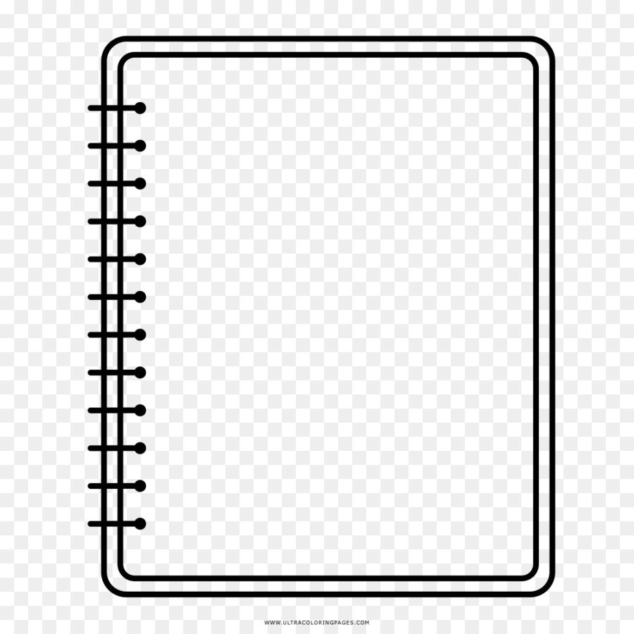 Papel de Cuaderno de Dibujo para Colorear libro - portátil png ...