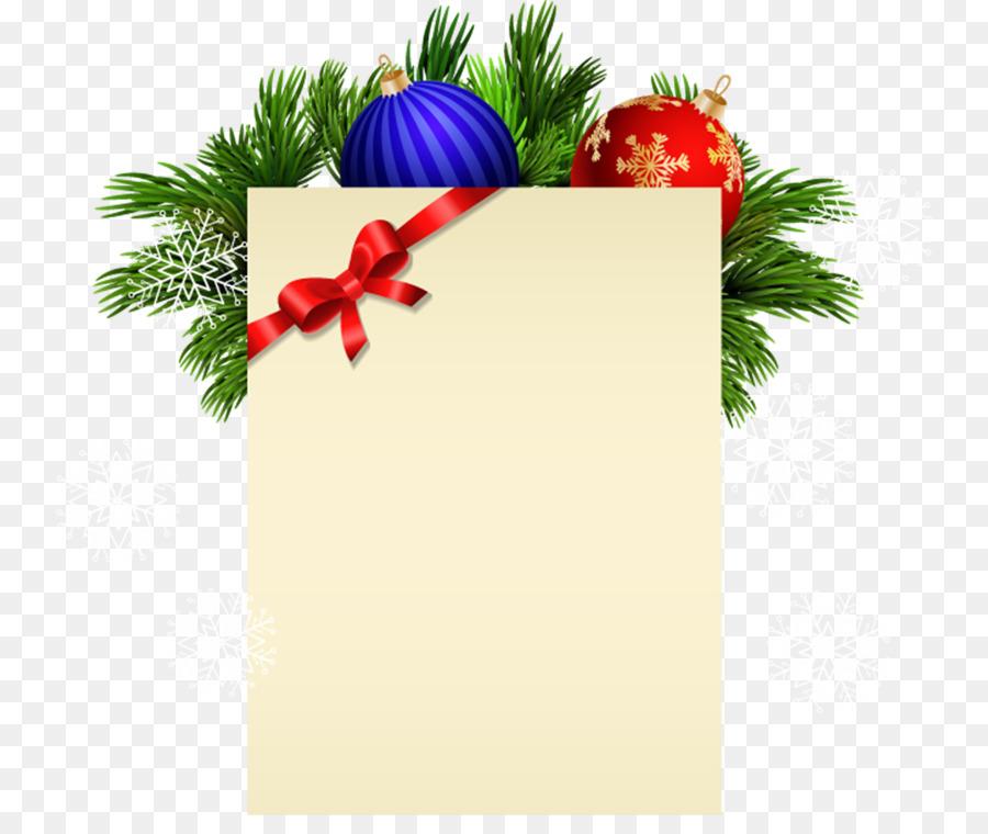 Christmas ornament Christmas card Clip art - christmas png download ...