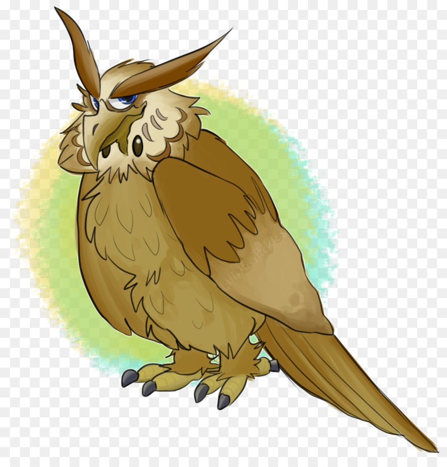 Burung Hantu Kelinci Elang Paruh Little Owl Unduh Burung