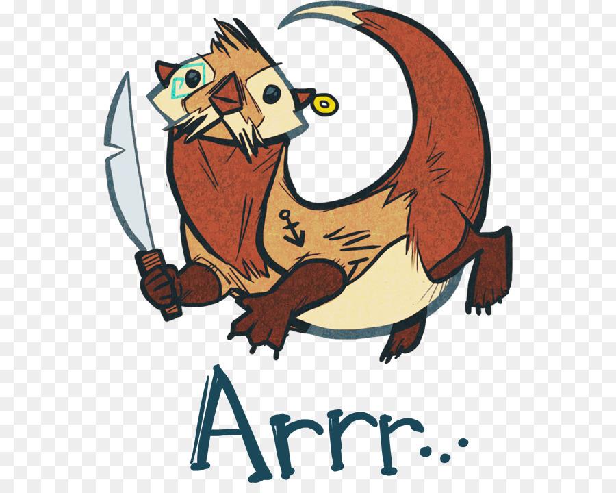 Otter Cartoon Png Download 598 705 Free Transparent Otter Png