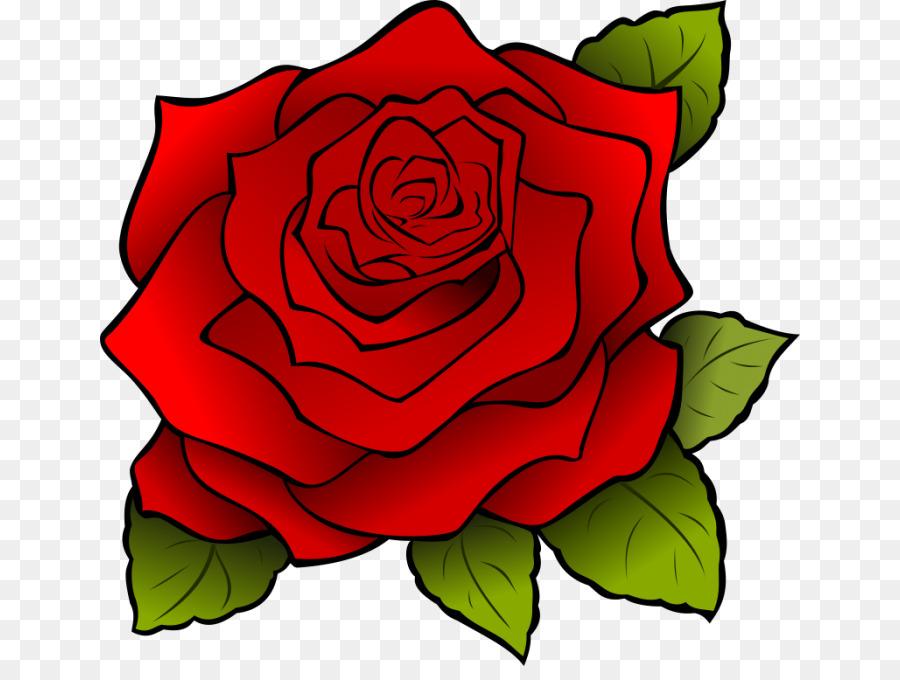 Zeichnung Rose Cartoon Clip Art Rose Png Herunterladen 700666