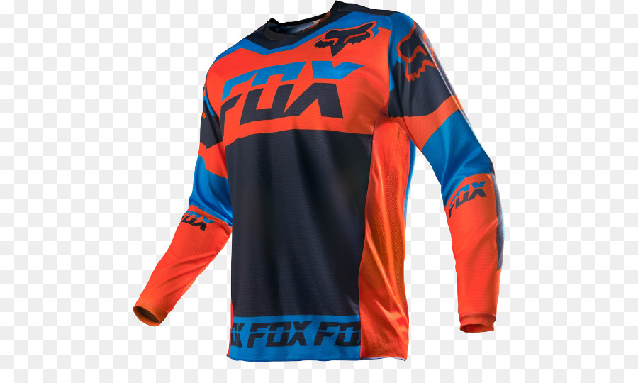 100247077 Mountain biking T-shirt Cycling Clothing Fox Racing - T-shirt png ...