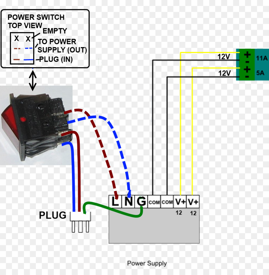 Power Supply Unit Wiring Diagram Electrical Switches Switched Mode Converter Wire Converters Others