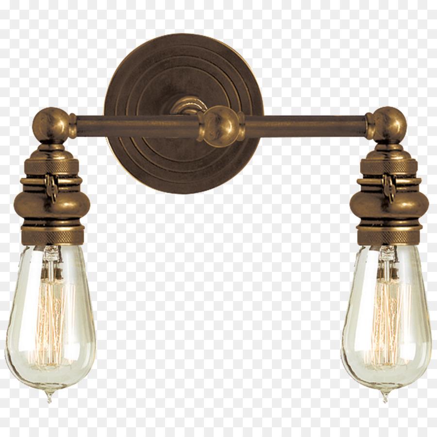Light Fixture Sconce Bathroom Lighting   Double Light