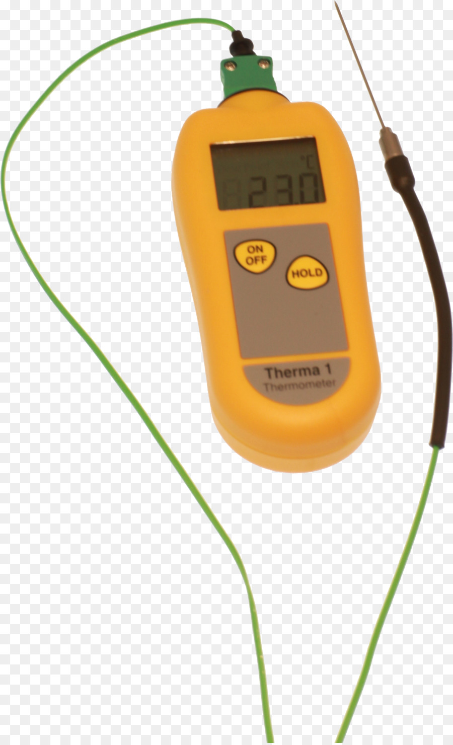 Thermometer Yellow png download - 2294*3762 - Free Transparent
