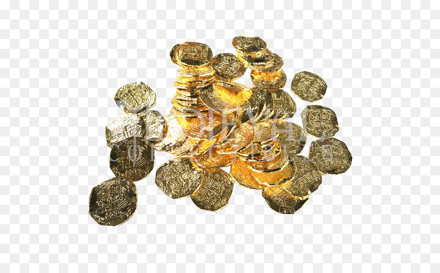Pirate Coins Gold png download - 550*550 - Free Transparent Pirate