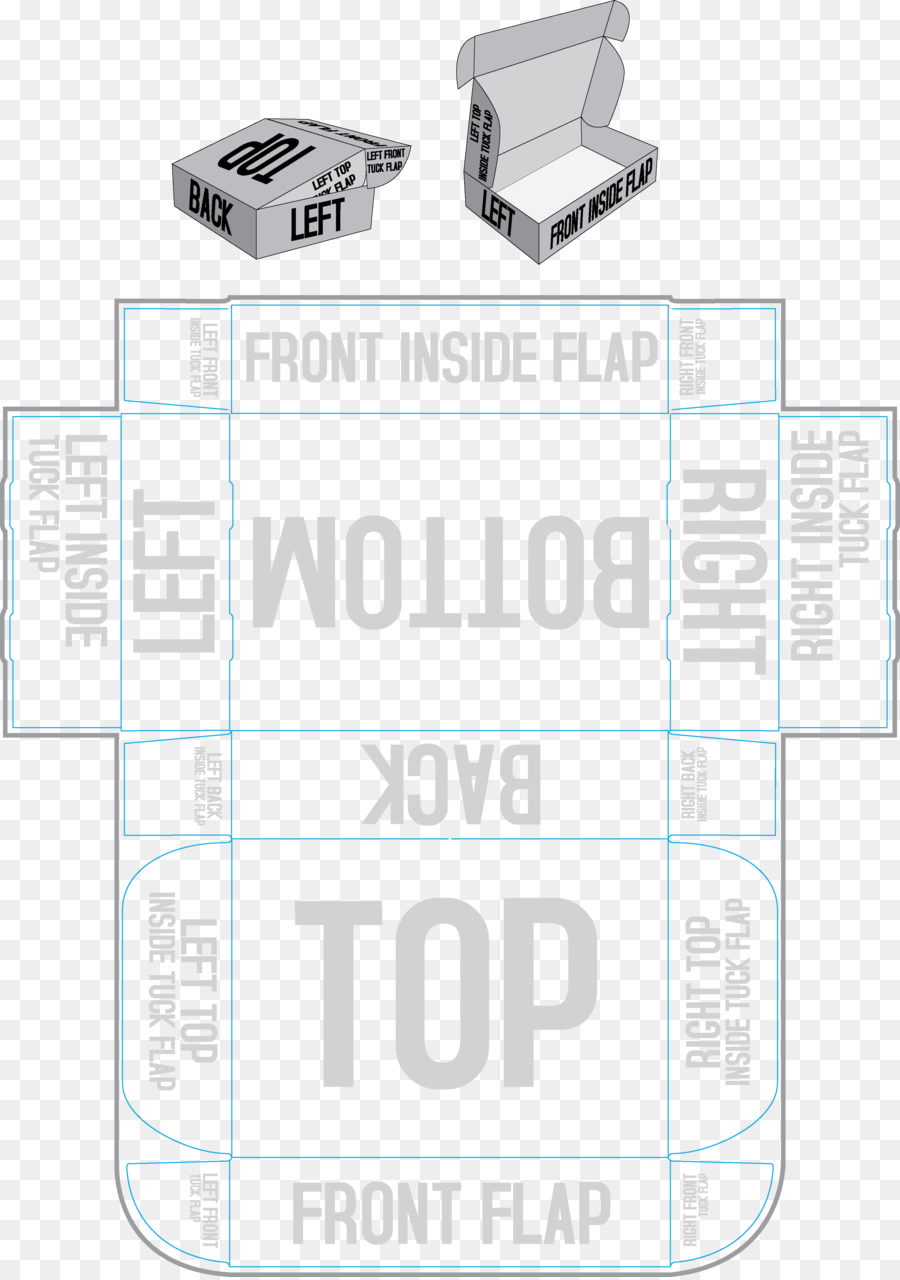Paper Tuck Box Template Wordpress Packaging Design Templates Png