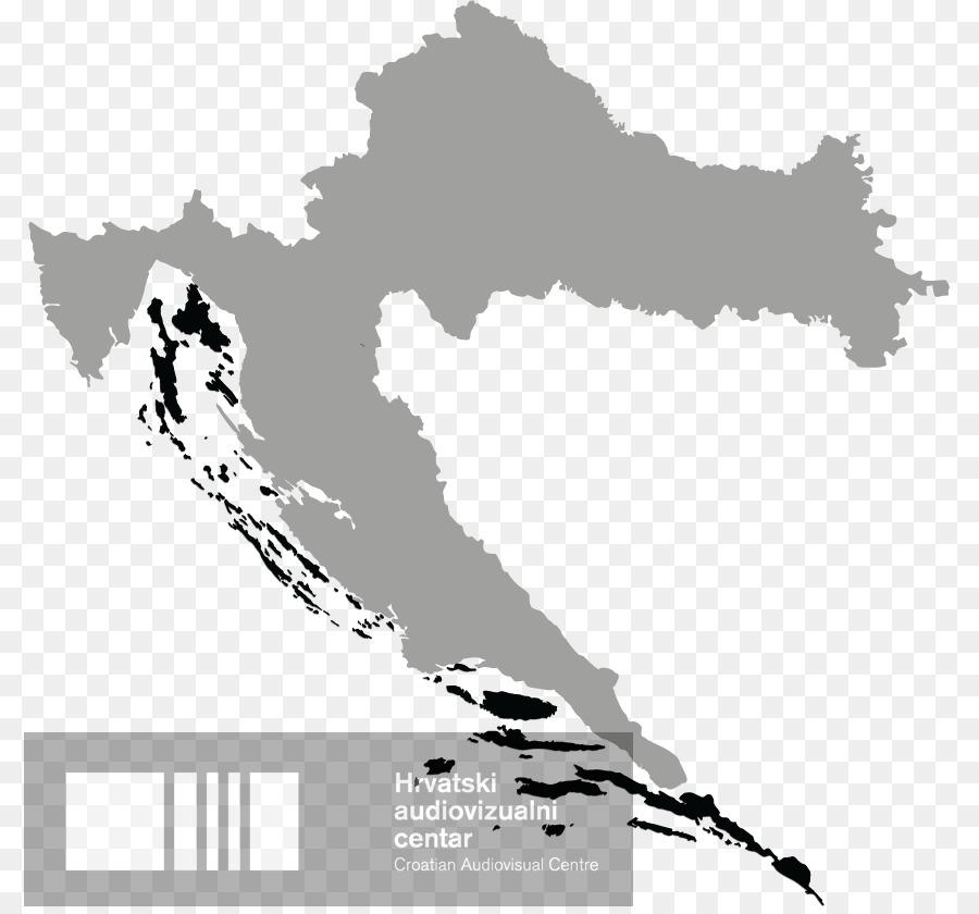 Flag Of Croatia National Symbols Of Croatia Map Png Download 856