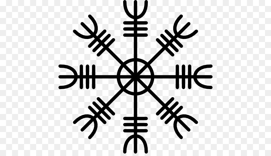 Old Norse Icelandic Magical Staves Tattoo Runes Vegvisir Tattoo