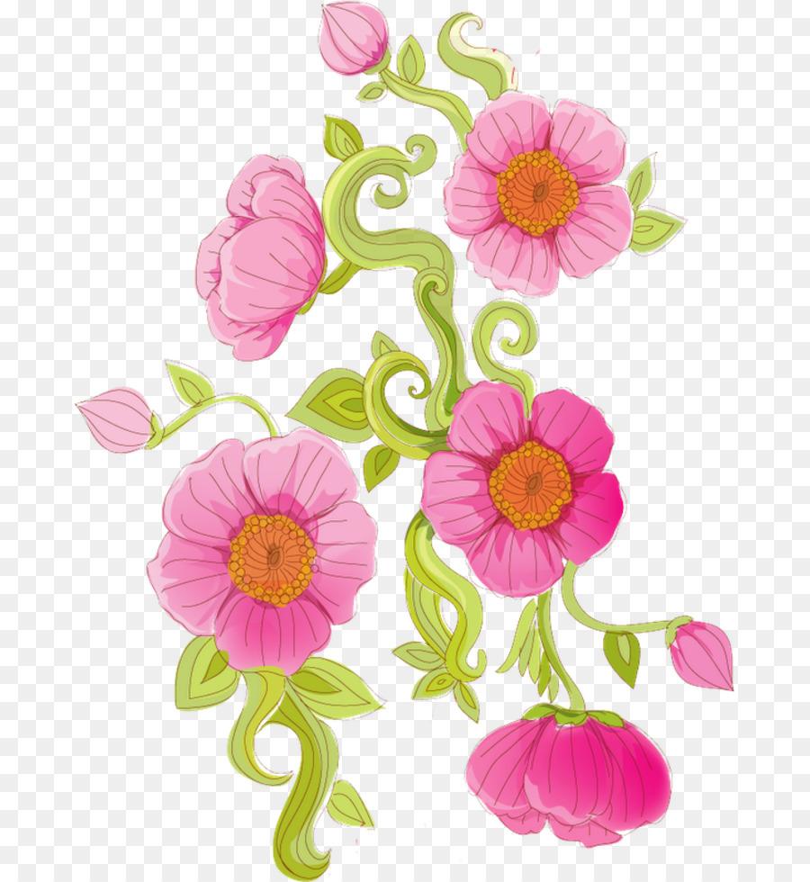 Paper Floral Design Coreldraw Flover Png Download 733 980 Free