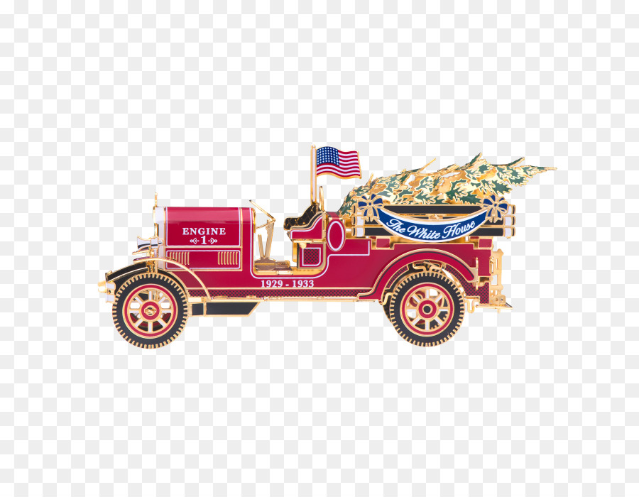 White House Historical Association Christmas ornament - christmas truck - White House Historical Association Christmas Ornament - Christmas
