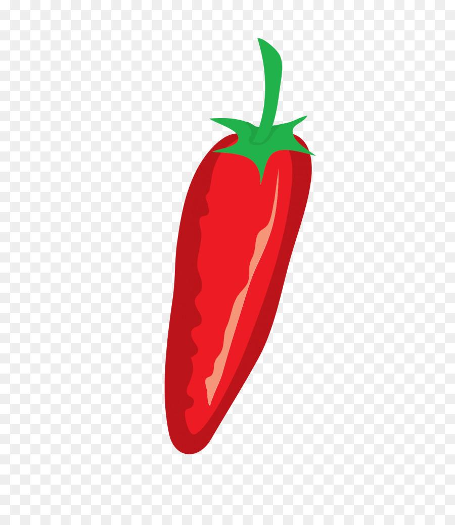 çilek Biber Dolmalık Biber Kırmızı Biber Gıda çilek Png Indir