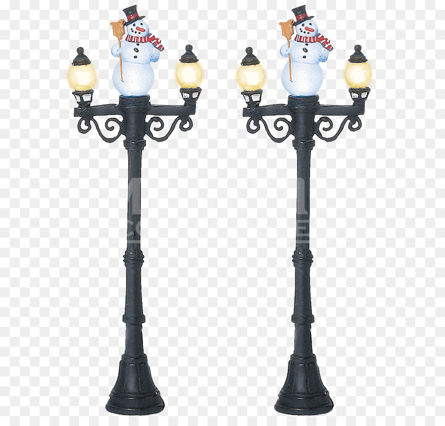 Street light Lamp Christmas village Department 56 - light - Street Light Lamp Christmas Village Department 56 - Light Png