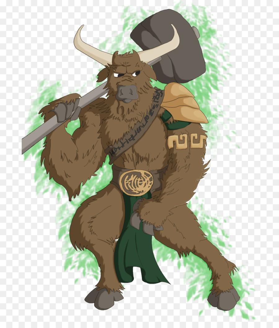 Theseus And The Minotaur Legendary Creature Romulus Minotaur Png