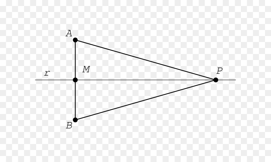 Triangle Line Point Area Line Segment Png Download 800533