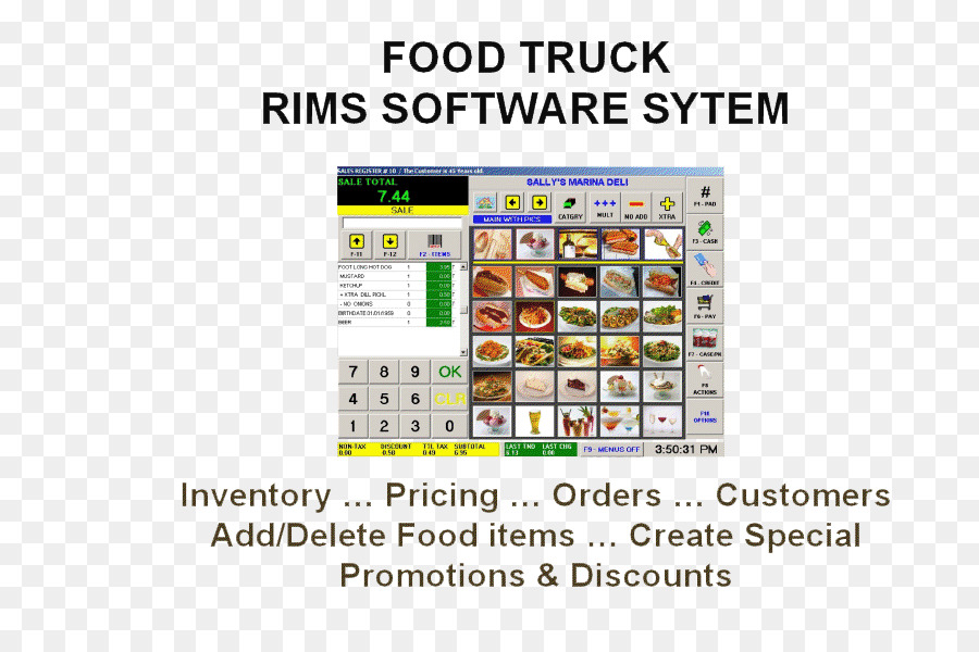 Restaurant Table Cleaning Touchscreen Font Order Gourmet Meal Png - Restaurant table software