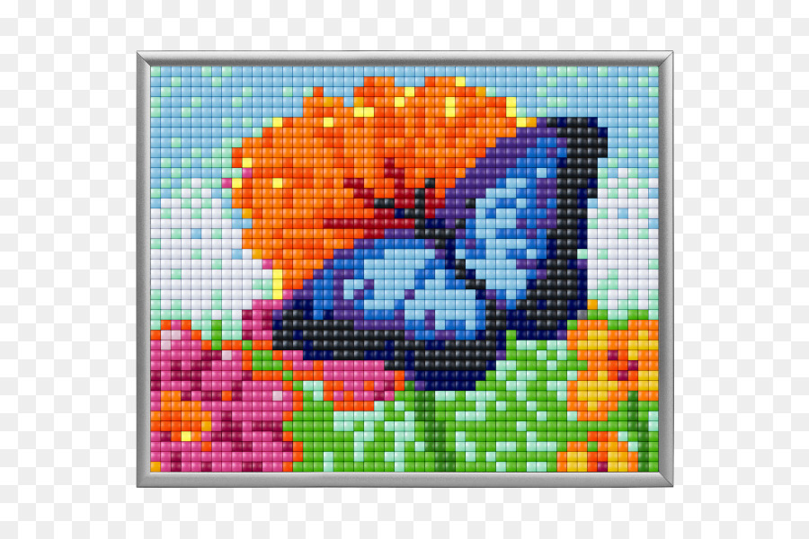 Minecraft Mods Pixel Art Cross Stitch Licorne Png Download 600