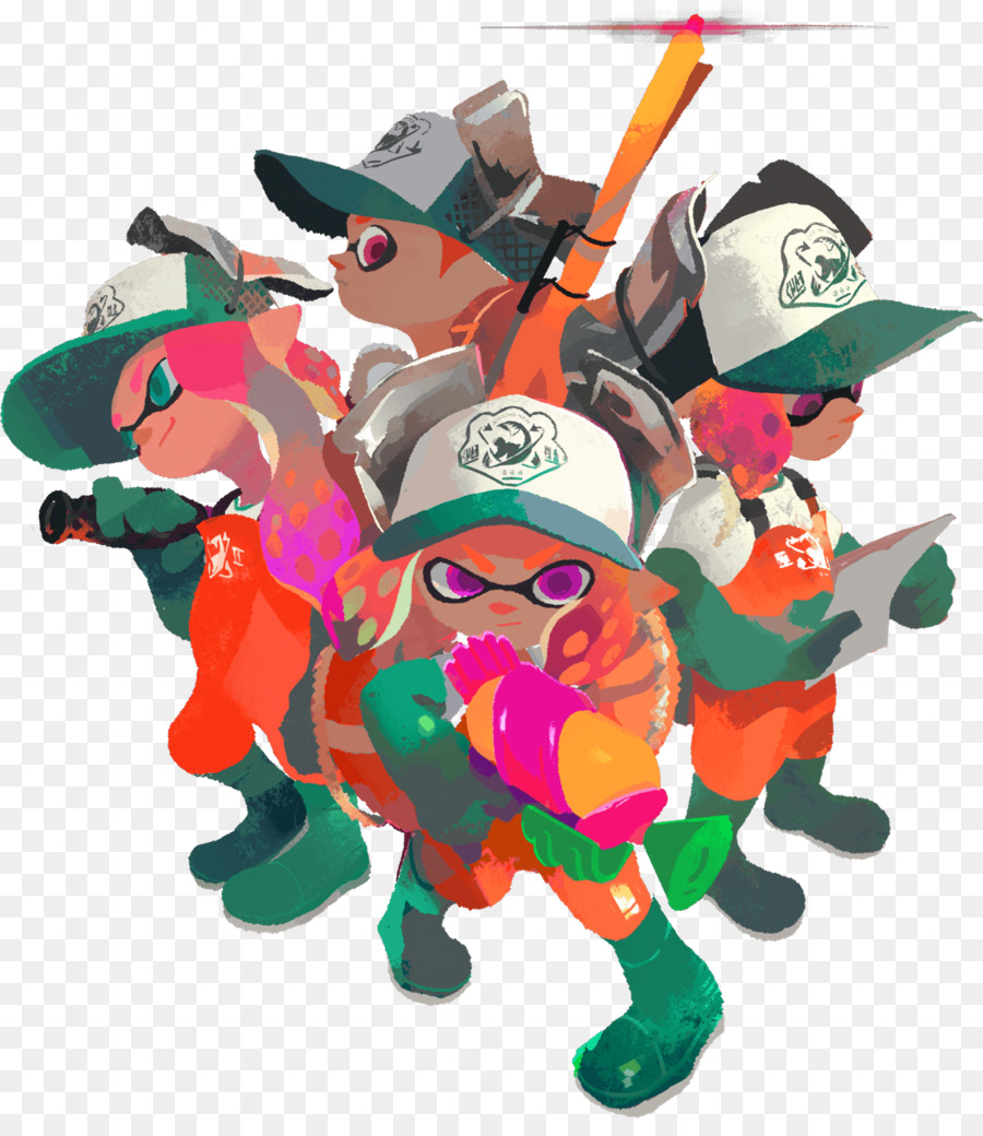 Splatoon 2 Arms Salmon run Nintendo - others png download - 1220 ...
