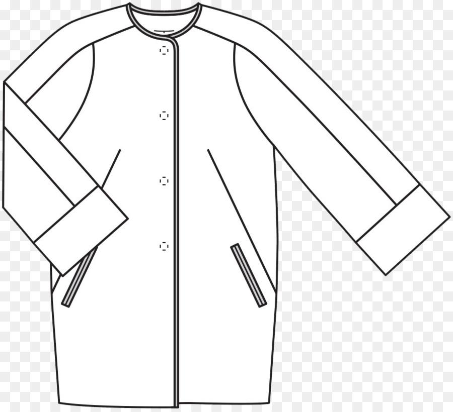 Kerah Saku Burda Style Pola Baju Gaun Unduh Pakaian Putih