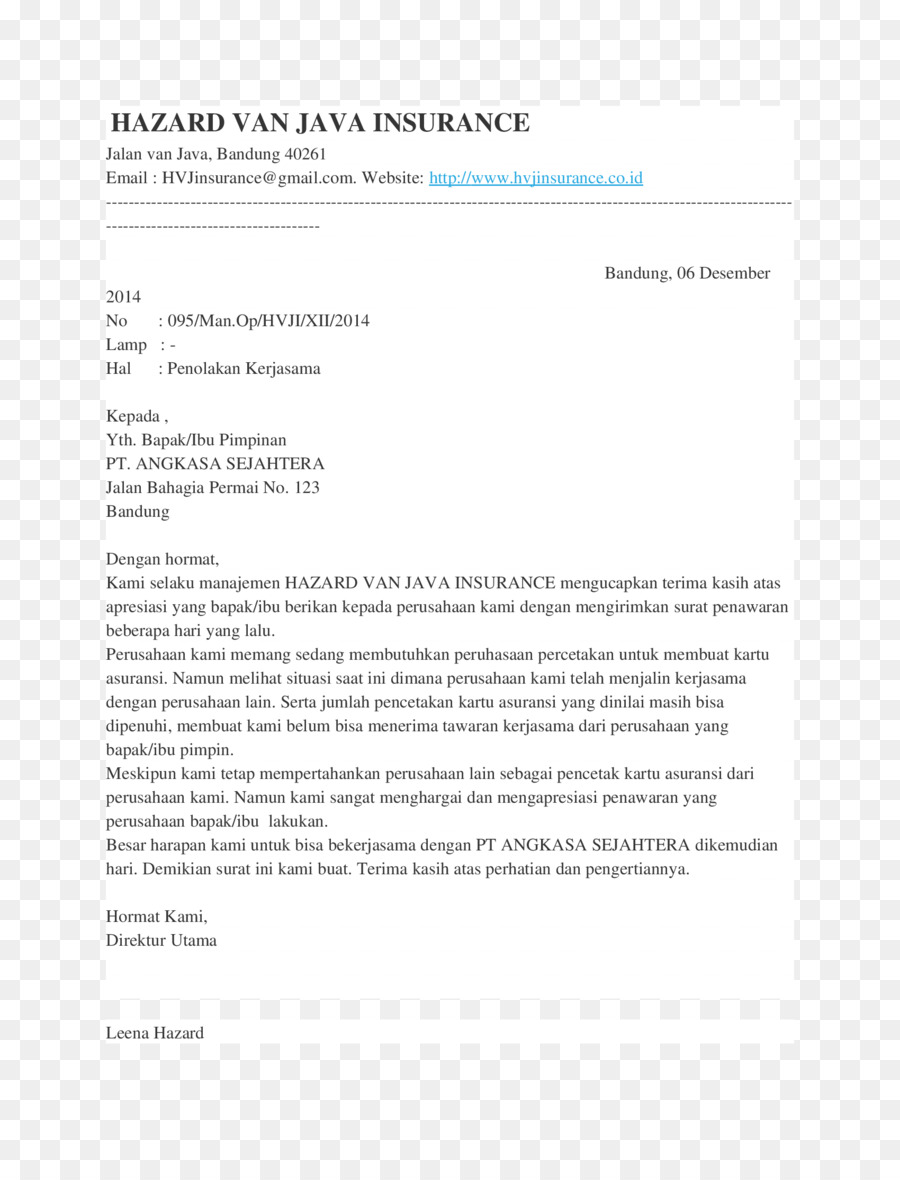 Cover Letter Resume Template Curriculum Vitae Kerjasama Png
