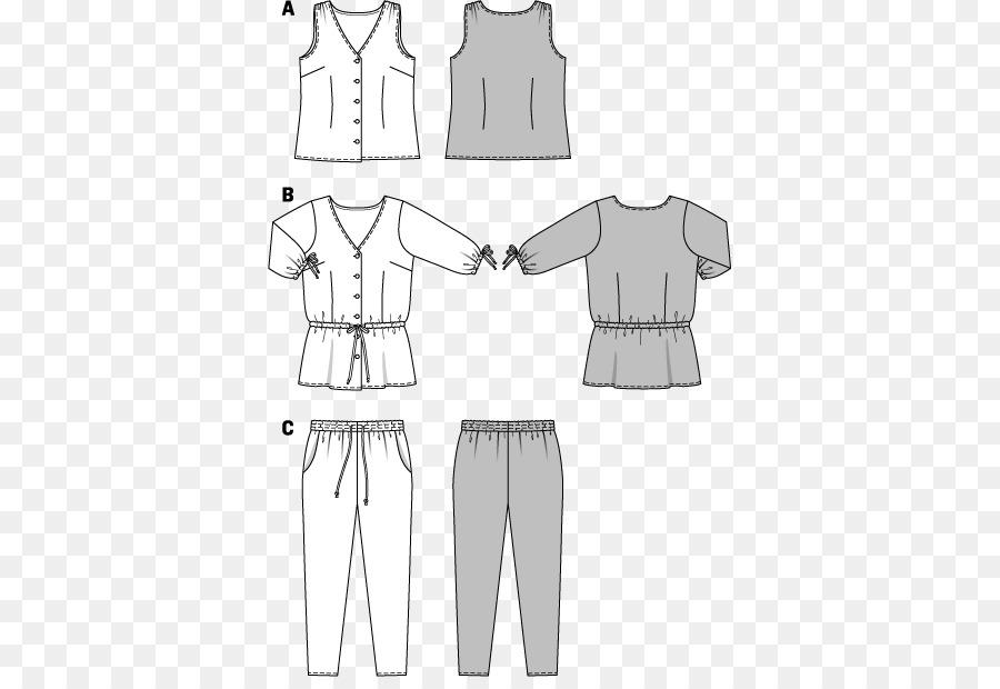 Burda Vestido De Estilo De Dibujo De Coser De Patrón - patrones para ...