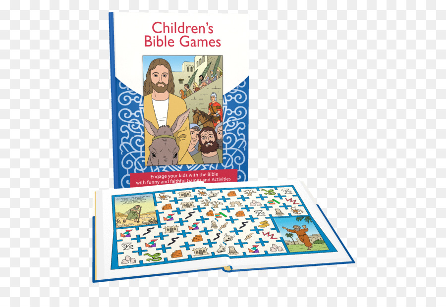 Bible Game Disciple Child Book - Kids Bible png download