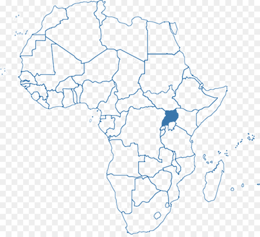 Blank Map Africa World Map Europe Africa Png Download 997 900