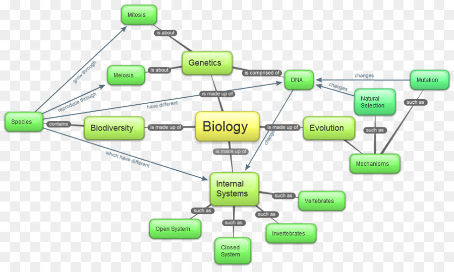 Concept Map Biology Cell Map Png Download 974 578 Free
